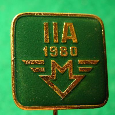 odznak METRO PRAHA IIA1980 /20