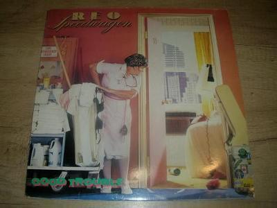 REO Speedwagon – Good Trouble (1985) 1.Press UK ,TOP STAV!!!