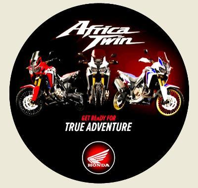 Honda Africa Twin, get ready for true adventure, samolepka pr.7-(1x).