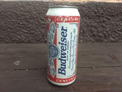 Plechovka - Budweiser - USA