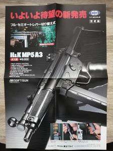 prospekt - MARUI - H&K MP5 A3