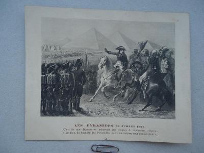 LES  PYRAMIDES  / 21 Juillet  1798 /... Bonaparte - 30.Janvier 1943
