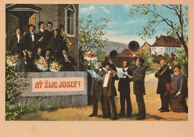 Ať žije Josef - Muzikanti a kytky 3x(retro)