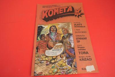 Kometa č. 19 / komiksy