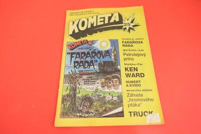 Kometa č. 25 / komiksy