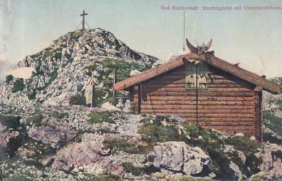 NĚMECKO - BAD REICHENHALL - HORSKÝ SRUB - 2-DG87