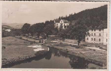 Albrechtice Bruntál dětské sanatorium