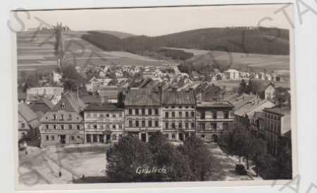 Kralíky (Grulich), Ústí nad Orlicí, pohled na měst