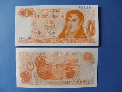1 Peso ND(1970-73) Argentina - P287 - UNC -  /H328/