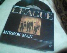 THE HUMAN LEAGUE-MIRROR MAN-SP-1982.