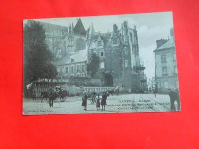 FRANCIE NANTES  ULICE MF 1914