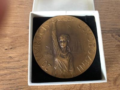 Medaile 20. výročí osvobození