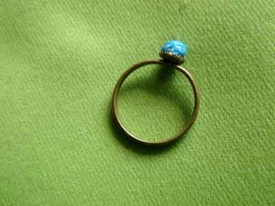 Starý dětský prstýnek
