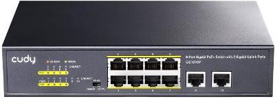 Cudy GS1010P 8+2 port !