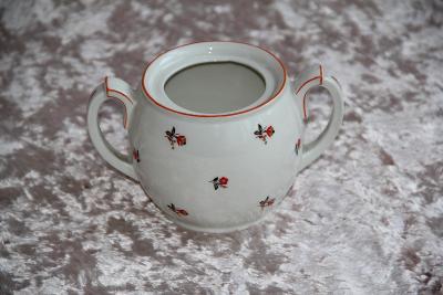 Porcelánová cukřenka, zn. Moritz Zdekauer Altrohlau