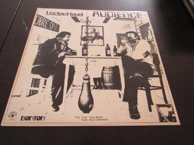 LP DESKA VÁCLAV HAVEL AUDIENCE 1978