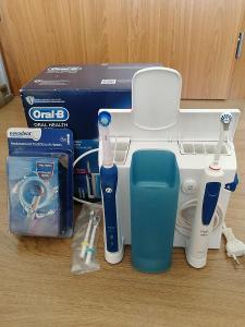 Ústí sprcha s elektrickým zubním kartáčkem Oral-B PRO 3000