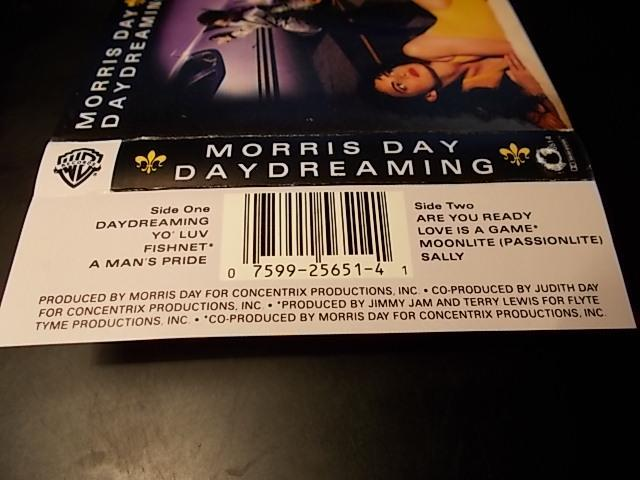 MORRIS DAY .......... IMPORT USA ! / MC originál kaseta - Hudba