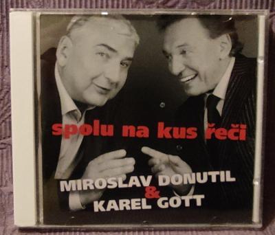 CD - Miroslav Donutil a Karel Gott  (2012), CD V PĚKNÉM STAVU