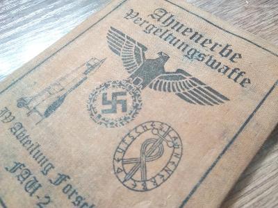 Nemecky dokument  Ahnenerbe III rise