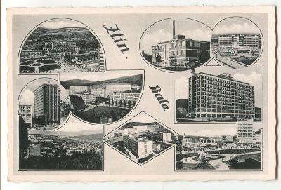 Zlín, továrna Baťa