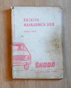 Katalog nahradnich dilu škoda 1976-1977.