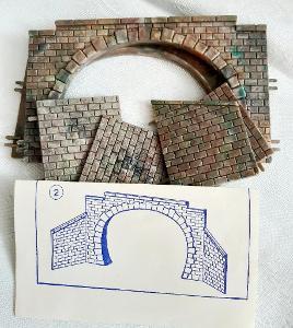 Tunelový portál dvojkolejný