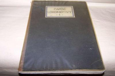 ČSD DOMÁCÍ SBÍRKA PARNÍ LOKOMOTIVY 1 V SEŠITĚ  výstřižky  cca 110 ks
