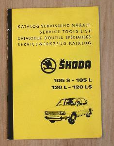 Katalog servisního nářadí, Škoda 105 120.