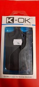 Pouzdro na mobil nylon, modrý pásek 105x45x15 mm
