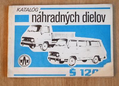Katalog nahradnych dilu Škoda 1203.