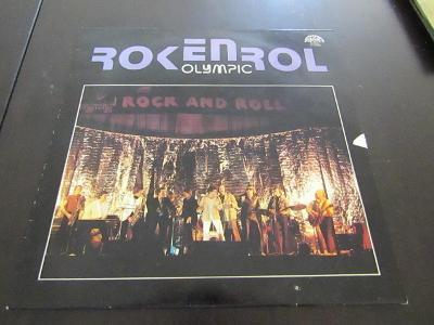 LP deska Rokenrol Olympic 1981