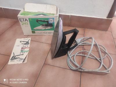 Stará žehlička ETA 241 / Funkční / + krabice a návod