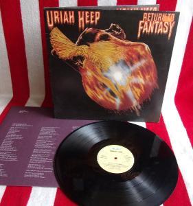 💥 LP: URIAH HEEP - RETURN TO FANTASY, jako nová NM 1.press W. Germany