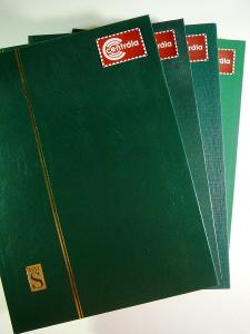 4128 Sbírka známek AFRIKA SVĚT +4 velmi hezké zásobníky A4