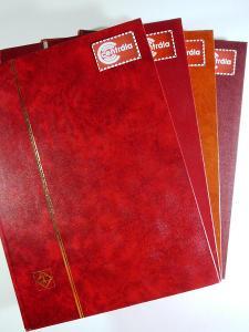 4135 Sbírka známek SVĚT tisíce známek + 4 hezké zásobníky A4