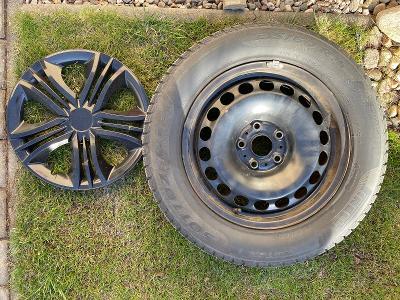 zimní pneu 4x PIRELLI SOTTOZERO 215/60/R16 99H plech. disky+poklice