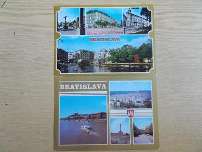 Slovensko Bratislava Dunaj lodě tramvaje