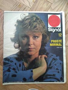 Časopis Signál 12 - 1987