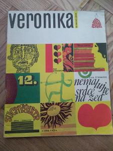 Časopis Veronika 12 - 1970