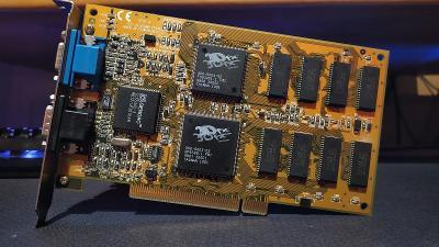 Yakumo / 3DFX Voodoo 4MB / funkční
