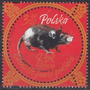 ** Polsko Mi.5182 Čínský nový rok krysy
