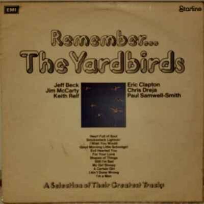 LP The Yardbirds - Remember... The Yardbirds, 1971 EX