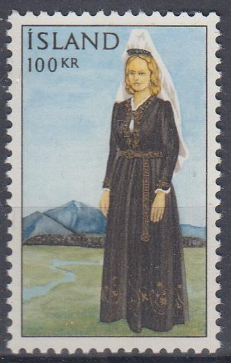 Island ** Mi.398 Národní kroj