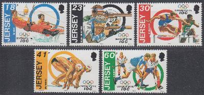 Jersey ** Mi.660-664 Výročí OH