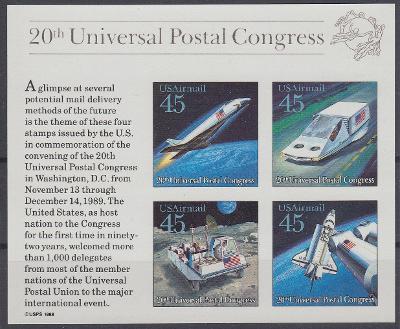 Spojené státy ** Mi.Bl.23 Výzkum vesmíru