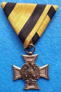 RU služobný kríž