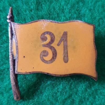 RU Čiapkový odznak