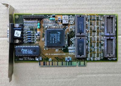 TRIDENT GUI9440 - 1MB (možnost rozšíření na 2MB) - PCI verze