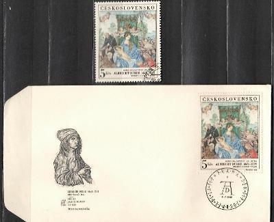 V8912   - FDC obálka prvního dne vydání + známky navíc